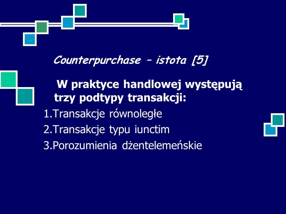 Counterpurchase – istota [5]